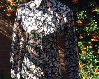1970's Men's Floral Shirt by CCS