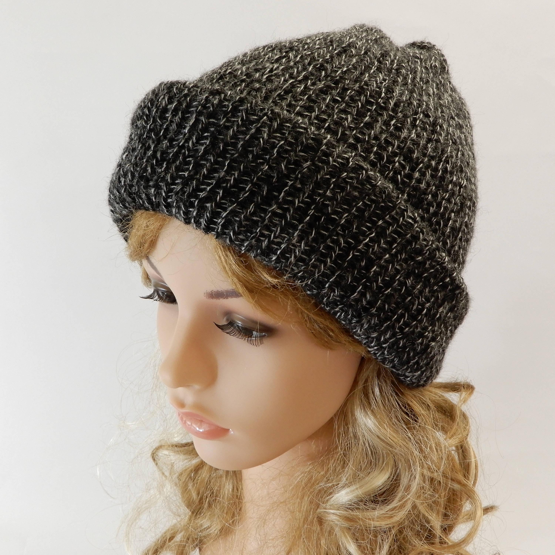 105a3d614ec Knit cap winter Beanie hat men Women winter hat Knit