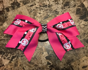 MK inspired cheer bow