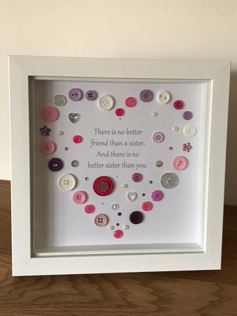 Citaten Hart Onder De Riem : Zuster knop art hart design foto met citaat gift voor zus etsy