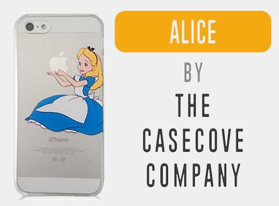Alice in Wonderland Hard Disney iPhone Case - iPhone 5 5s SE Case, iPhone 6s Case, iPhone 7 Case, iPhone 8 Case, iPhone 8 Plus Case