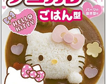 SANRIO HELLO KITTY Mold For Rice[B00QPLS2H6]