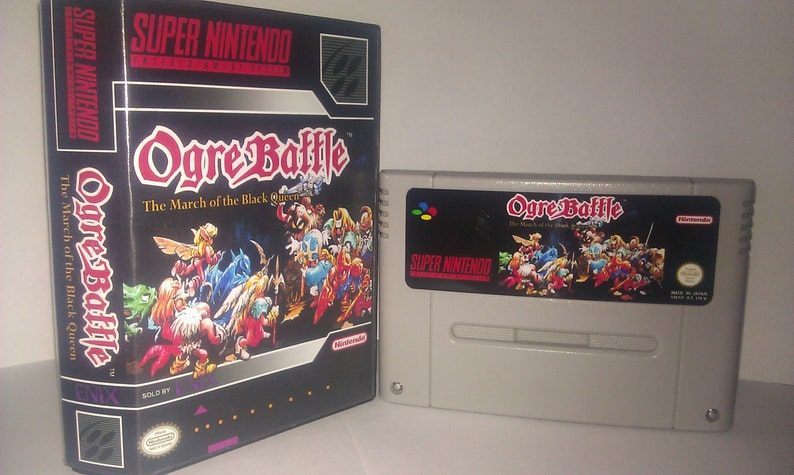 Ogre Battle - The March of the Black Queen SNES (Pal)