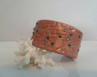 Cuff Bracelet Polymer Clay