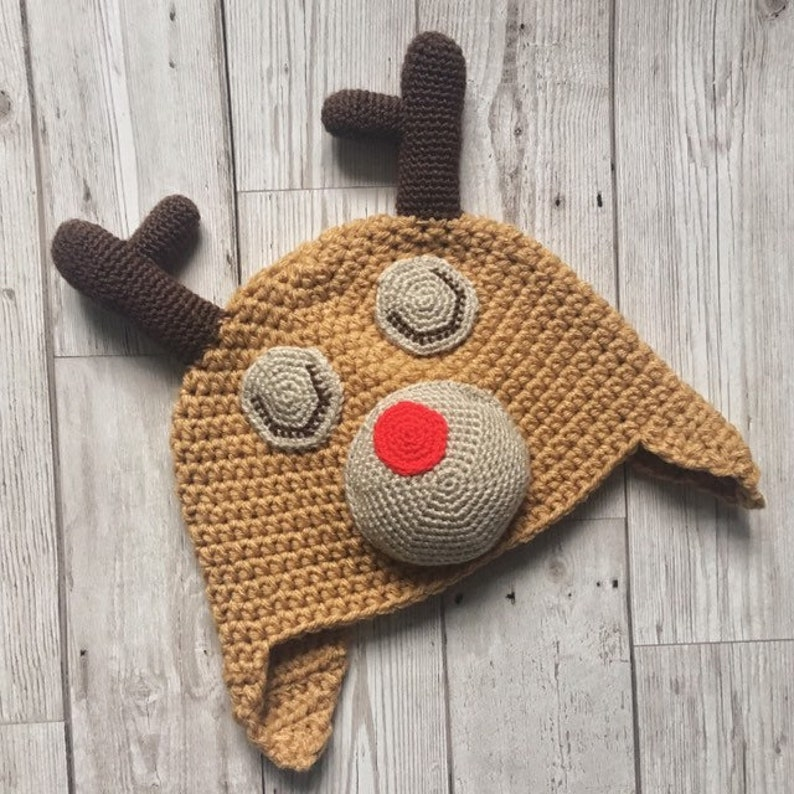 e9e299df7c81b Child s Reindeer Hat Kids Winter Reindeer Hat Kids