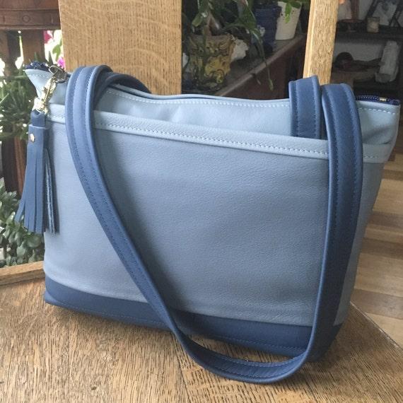 c7d75c017ad4 Leather shoulder bag small tote everyday purse handbag trendy | Etsy