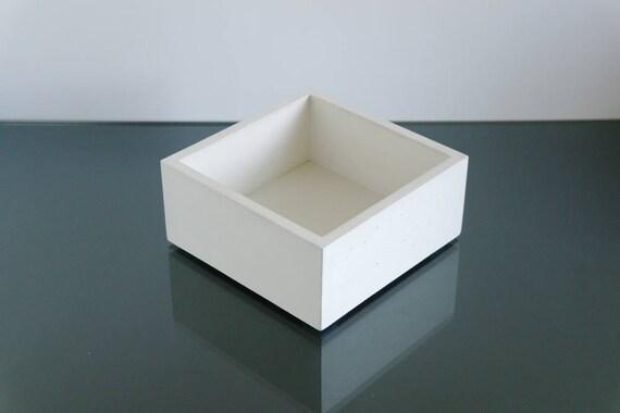 Le béton blanc bol de fruits bol moderne cuisine bureau bol bol