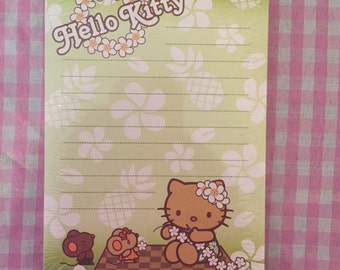 Sanrio Hello Kitty Tropical Memo Pad