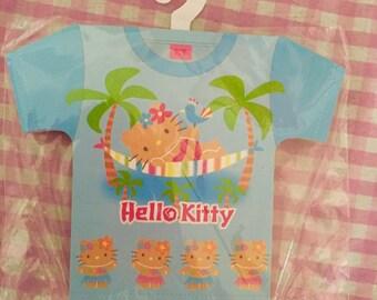 Sanrio Hello Kitty memo pad Hula Kawaii RARE