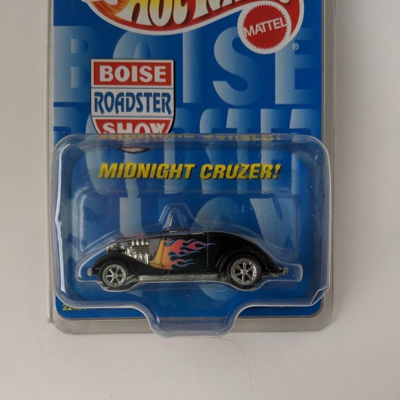 1990s Vintage Hot Wheels Boise Roadster Show Midnight Cruzer