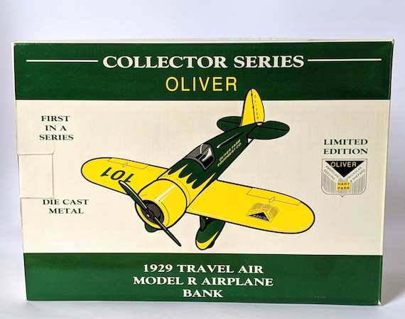 Oliver 1929 Travel Air Model R Airplane Bank