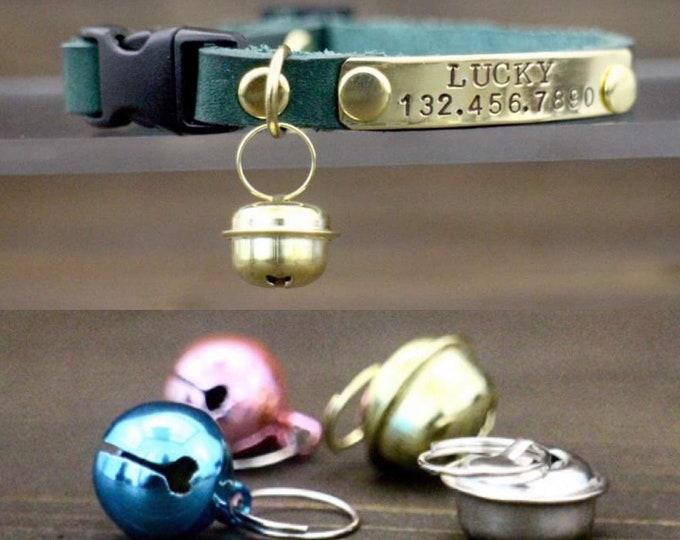 Cat collar bell - Bell - Pink cat bell - Pet bell - Collar bell - Pet accessories