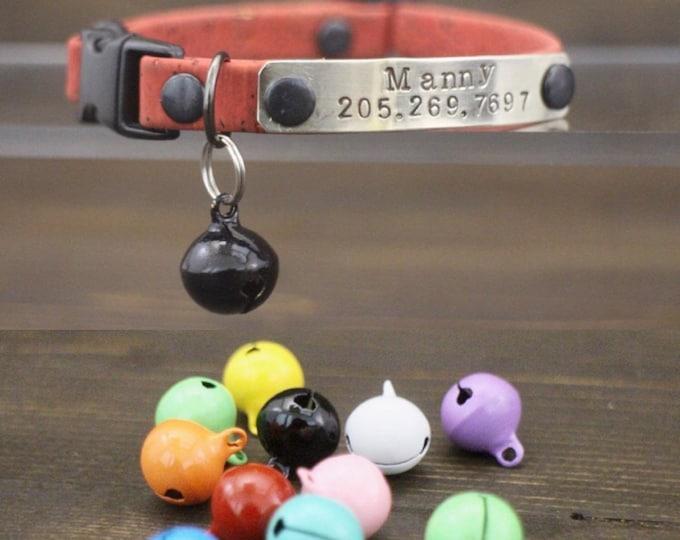 Cat bell - Cat collar bell - Pet accessories - Bells - Jingle bell - Solid color bell