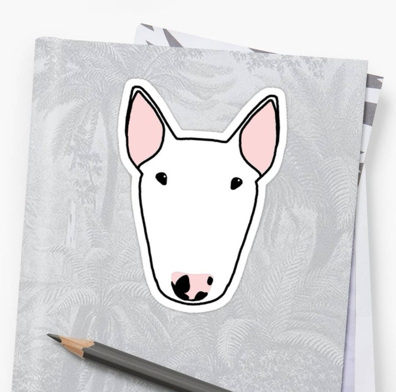 Custom Big Bully Digital Drawing with Repeat Pattern Option image 0