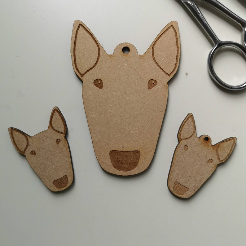 MDF Big Bully blanks for crafting image 0