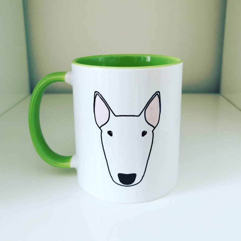 Classic Big Bully mug with choice of colour handle and image 0