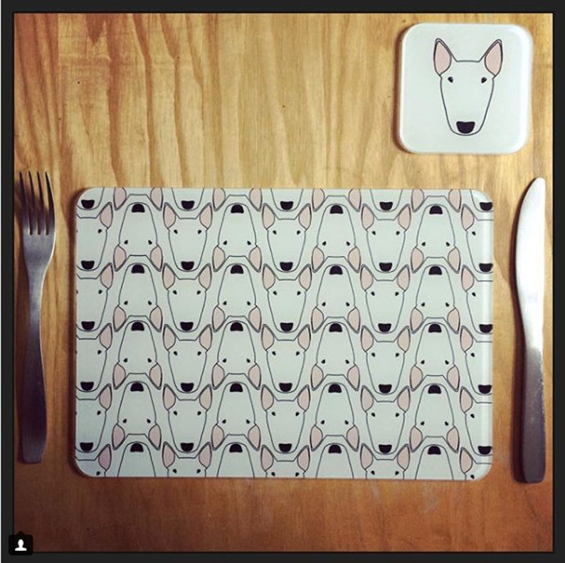 Personalised Placemat. Single or Set of Four. image 0