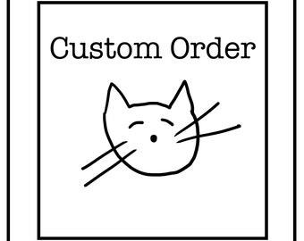 Custom Order For Anahi