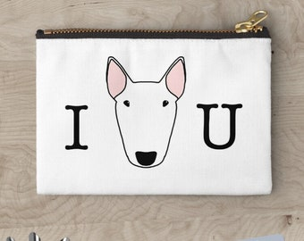 Custom Bully Zipper pouch in 3 sizes (can be personalised)