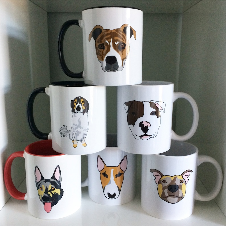 Custom Pet Portrait Mug image 0