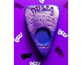Purple Planchette Bubble Bar, Solid Bubble Bath