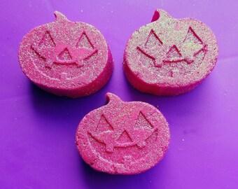Pink Peppermint Pumpkin Bath Melts