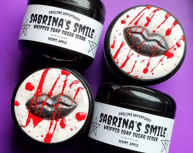 Featured listing image: Sabrina's Smile, Apple Whipped Soap Sugar Scrub