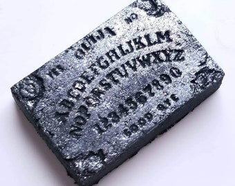 Midnight Haunting Ouija Board Black Bath Bomb