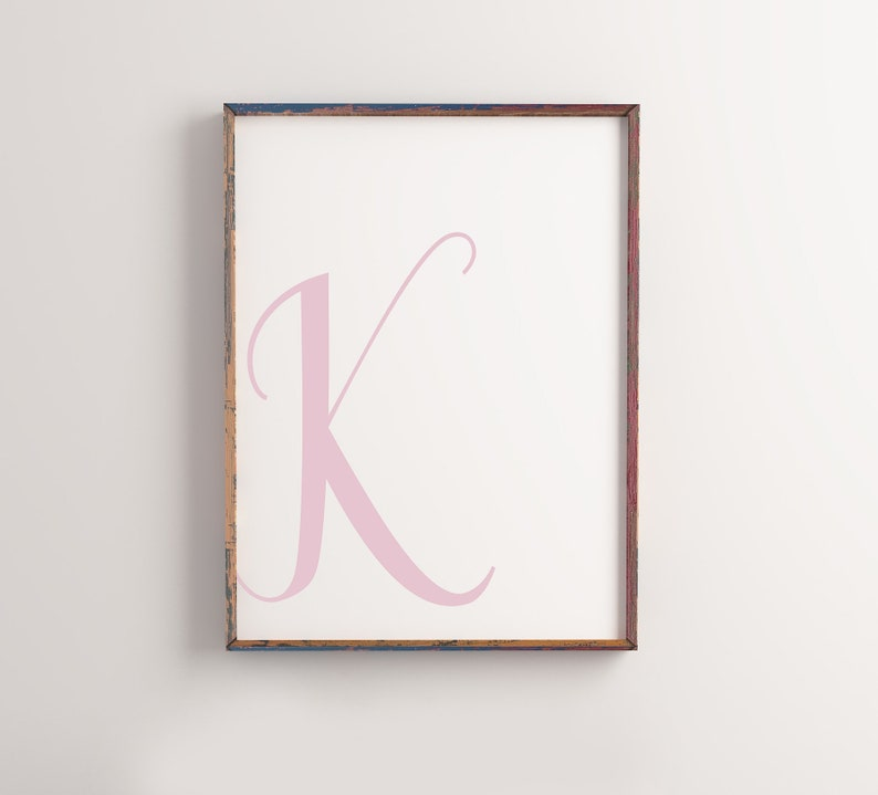 photo relating to Printable Letter K titled Printable Letter K Crimson Letter Artwork Print Red K To start with Electronic Wall Poster Monogram Nursery Artwork Letter K Print Lady Nursery K