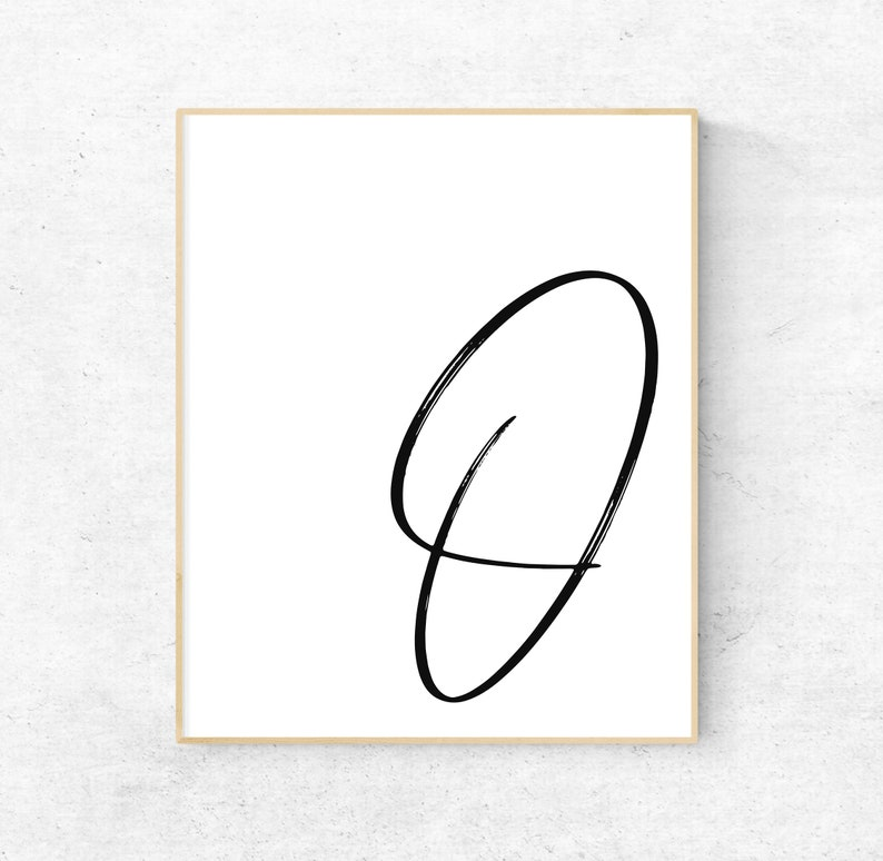 photograph about Letter O Printable named Printable Letter O Letter Artwork Print O Initially Electronic Wall Poster  Monogram Nursery Wall Artwork Letter O Print O Typography Decor