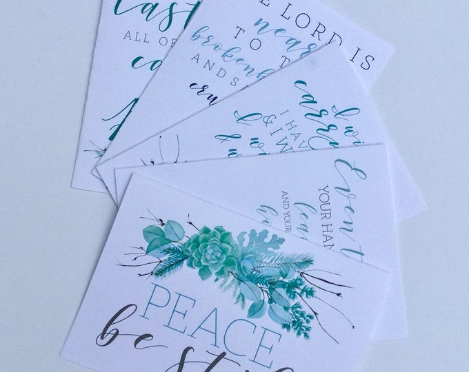 Sympathy Cards; Bereavement Card; Thinking of you Card; Condolence Card; Supportive Card; Card For Loss; Grief Card; Scripture Sympathy Card