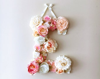 Party backdrop, Party decor, Floral letters, Floral letters, Nursery decor, Nursery wall letters, Baby shower gift, Photo Prop