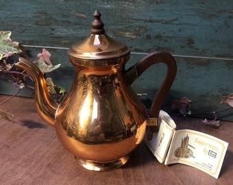 Copper tea pot | Etsy