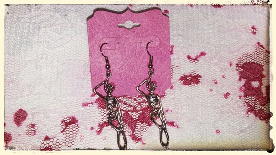 Hangman's Joke Earrings