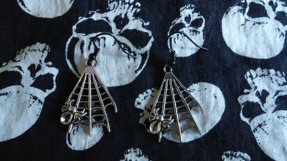 Spider's Parlor Earrings