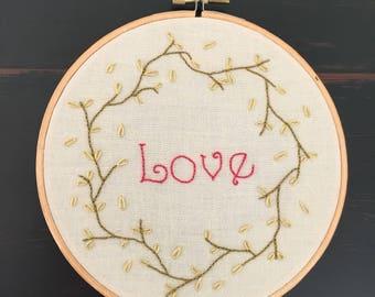 """6"""" Hoop of Love"""
