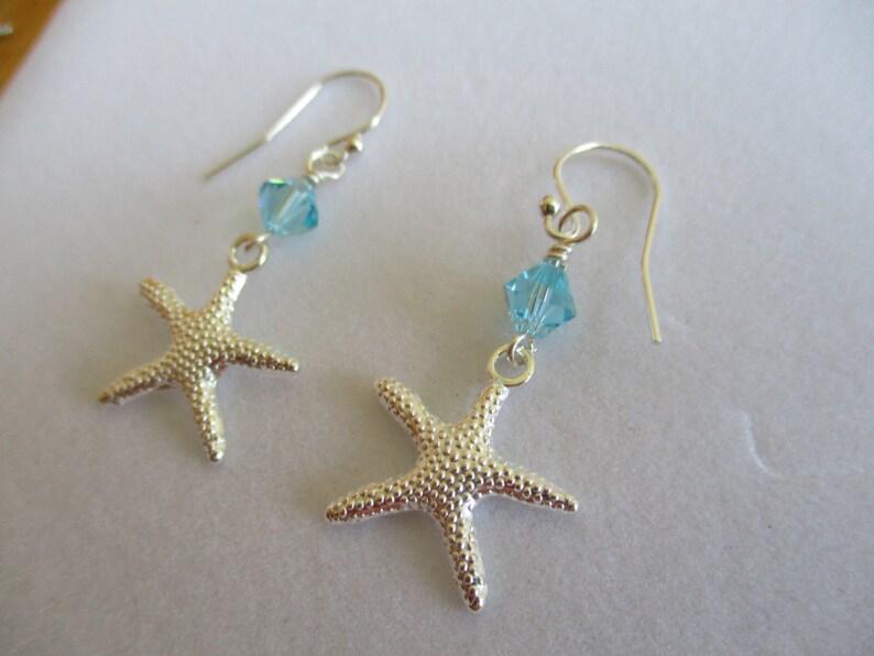 c9dc0752a Summer earrings starfish earrings starfish jewelry ocean | Etsy