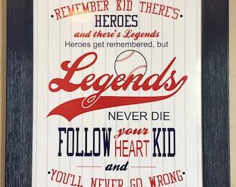 Sandlot Quote Poster