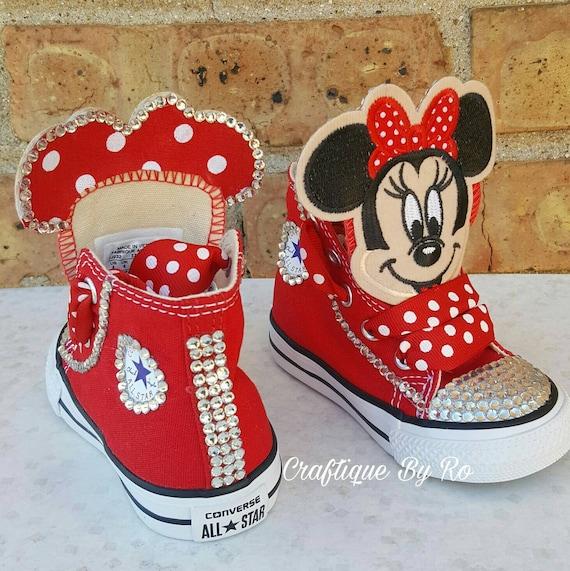 8c0ae305669b Custom Mouse Birthday Bling Shoes Birthday Outfit Custom