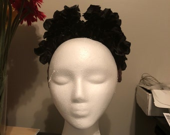 Bendy and the ink machine floral horns/headpiece