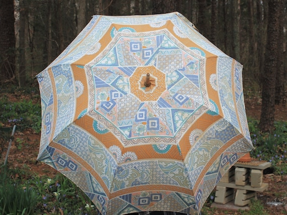 Vintage  Parasol, French Umbrella, Cloth Umbrella,