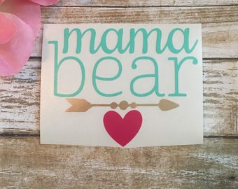 Mamma Bear Decal