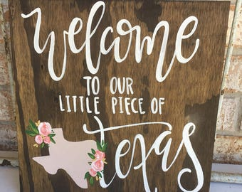 little piece of texas; small