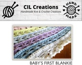 Baby's First Blankie Crochet Pattern