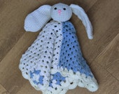 Baby Bunny Plush Toy with Blanket