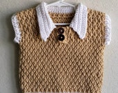 Sweater Vest for Toddler Boy