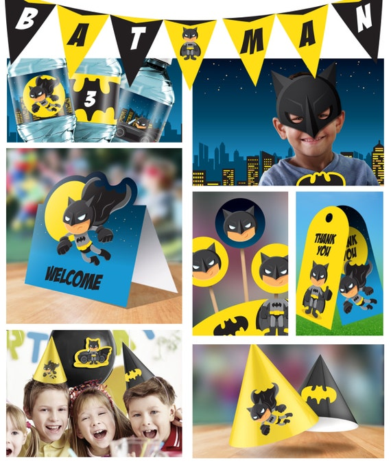 It is a graphic of Batman Cupcake Toppers Printable with regard to batman layout white