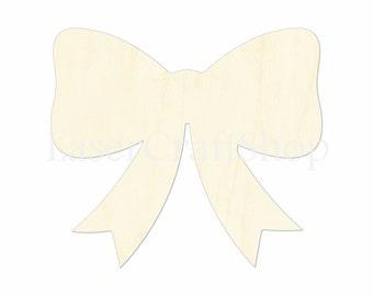 Girl/'s Bedroom Bow Wooden Cutout  Bow Decor  Bedroom Bow Girl/'s Decor  Hair Bow  Hair Bow Cutout  Wooden Bow  Wood Hair Bow  Laser