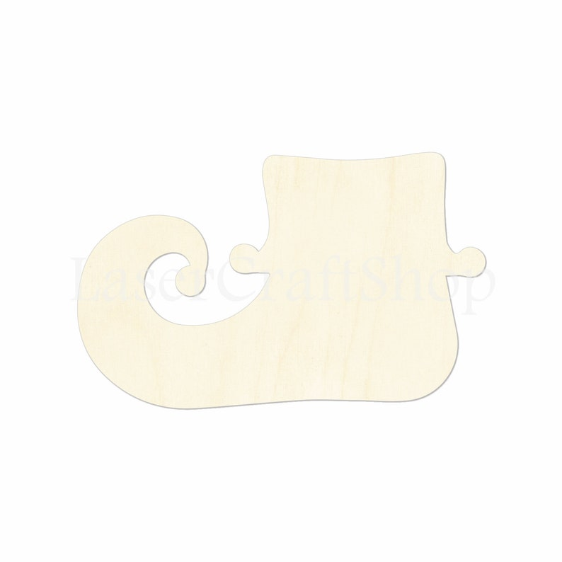 Fox Tags Ornaments Laser Cut #1095 Silhouette Wooden Cutout Shape
