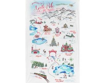 North Pole Extra-Large Wall Hanging Flag   North Pole Flag   The North Pole Christmas Decor   Santa's Village Decor   Christmas Wall Decor